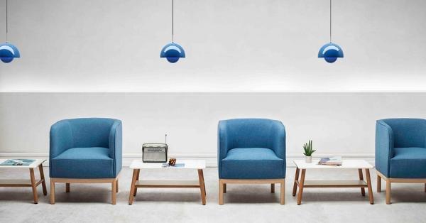 Espacios contract con posibilidades infinitas gracias a los sillones modulares
