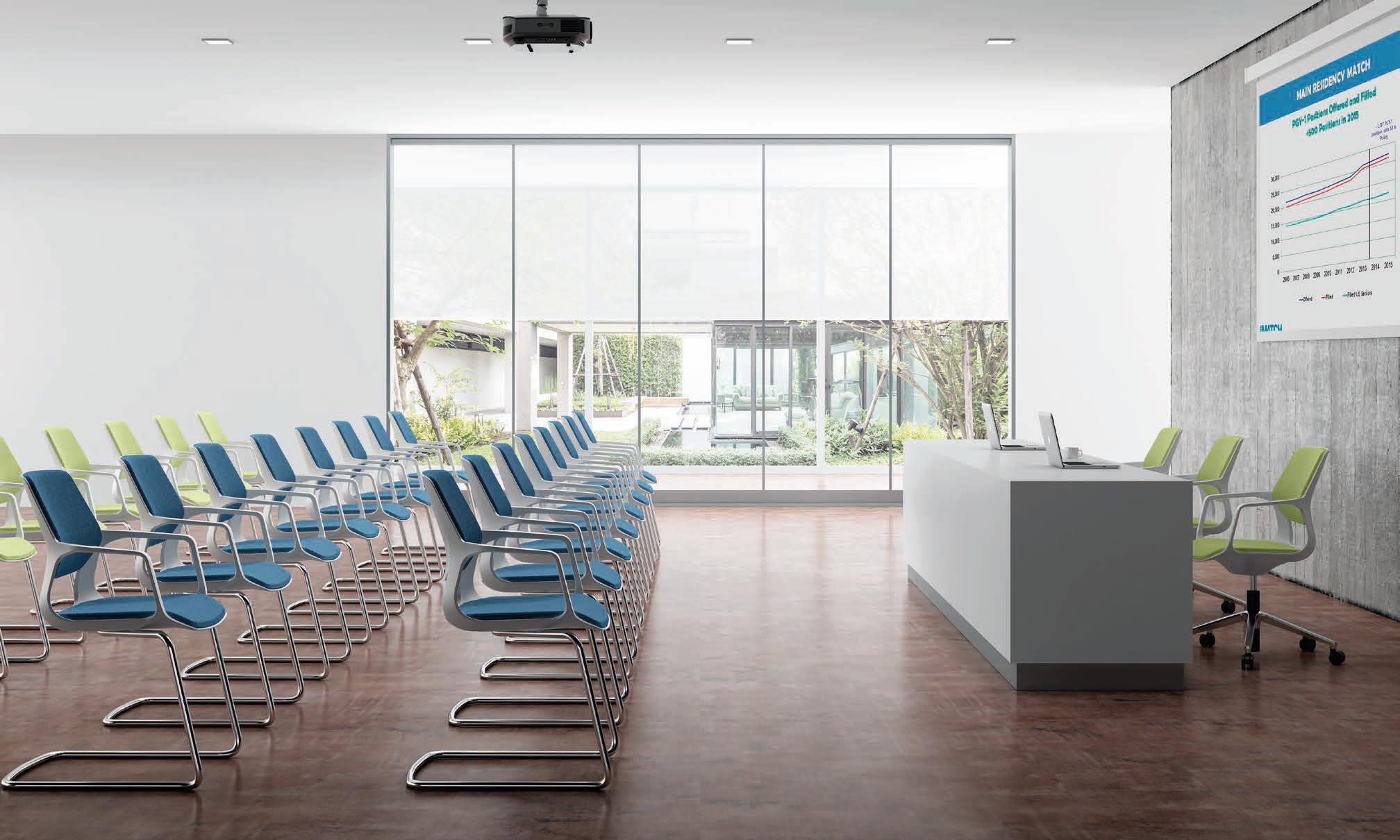 sillas salas de conferencia